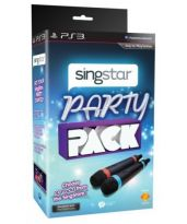 Hra pre Playstation 3 SingStar Party Pack (mikrofóny + 10 pesničiek)