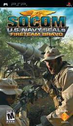 Hra pre PSP SOCOM: U.S. Navy SEALs Fireteam Bravo + headset
