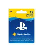 PlayStation Plus Card (365 dní) pre SK účet (SONY) (PS4)