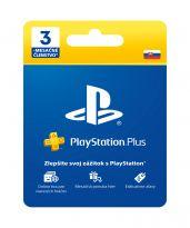 PlayStation Plus Card (90 dní) pre SK účet (SONY) (PS4)