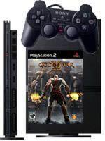Príslušenstvo pre Playstation 2 PlayStation 2 Slim (čierna) + God of War II + DualShock 2 + 8MB pamätová karta