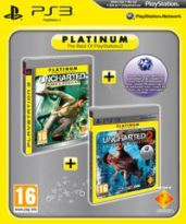 Hra pre Playstation 3 Uncharted - Twin Pack (1+2)