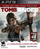 Hra pro Playstation 3 Tomb Raider (Game of the Year)