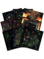 Stolní hra Desková hra Dark Souls - Darkroot Basin and Iron Keep Tile Set (rozříšení)