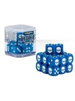 Stolov� hra Kocky Warhammer Dice Cube (20ks), �es�stenn� - modr�