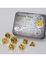Stolní hra Set hracích kostek Metal Dice Set: Gold