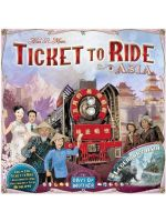 Stolová hra Ticket to Ride  - Map Collection ASIA