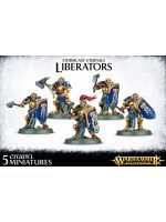 Stolní hra W-AOS: Stormcast Eternals - Liberators (5 figurek)