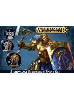 Stolová hra W-AOS: Stromcast Eternals + Paint Set