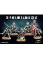 Stolní hra W40k: Grey Knights Paladin Squad (5 figurek) (zničená krabice)
