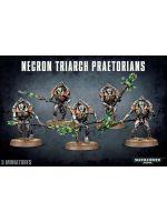 Stolová hra W40k: Necron Triarch Praetorians (5 figúrok)