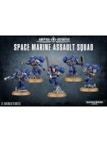 Stolní hra W40k: Space Marine Assault Squad (5 figurek)