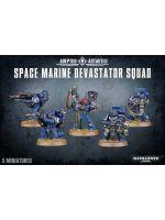 Stolní hra W40k: Space Marine Devastator Squad (5 figurek)