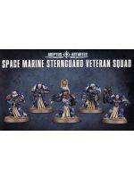 Stolov� hra W40k: Space Marine Stenguard Veteran Squad (5 fig�rok)
