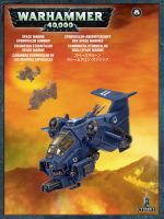Stolní hra W40k: Space Marine Stormhawk Interceptor (1 figurka)