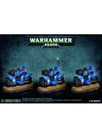Stolní hra W40k: Space Marine Bike Squad (3 figurky) (zničená krabice)