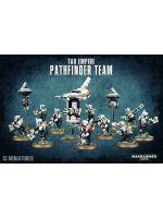Stolní hra W40k: Tau Empire Pathfinder Team (10+3 figurky)