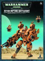 Stolní hra W40k: Tau Empire XV104 Riptide Battlesuit (1+2 figurky)