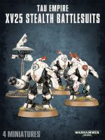 W40k: Tau Empire XV25 Stealth Battlesuits (3 figúrky) (STHRY)
