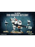 Stolní hra W40k: Tau Empire XV88 Broadside Battlesuit (3 figurky)