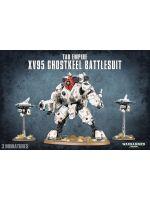 Stolní hra W40k: Tau Empire XV95 Ghostkeel Battlesuit (3 figurky)