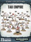 W40k: Start Collecting! Tau Empire (23 figurek)