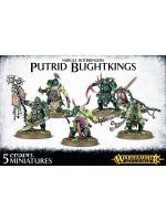 Stolní hra W-AOS: Nurge Rotbringers - Putrid Blightkings (5 figurek)