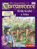 Stolová hra Carcassonne 6. rozšírenie - Kráľ, šľachtic a rieka