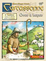 Stolová hra Carcassonne 9. rozšírenie - Ovce a kopce