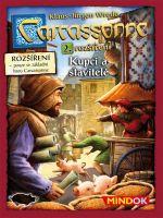 Stolová hra Carcassonne 2. rozšírenie - Kupci a stavitelia