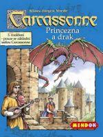 Stolová hra Carcassonne 3. rozšírenie - Princezná a drak