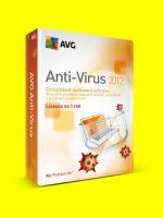software pre PC AVG Anti-Virus 2012, prodloužení 1 licence na 12 měsíců