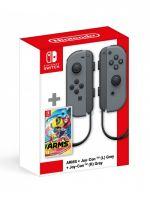Konzole Nintendo Switch a příslušenství ARMS + Ovladače Joy-Con - Grey