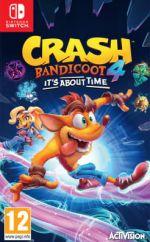 hra pro Nintendo Switch Crash Bandicoot 4: It's About Time