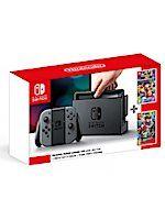 Konzola Nintendo Switch - Grey + Super Mario Odyssey + Mario Kart 8 Deluxe (SWITCHHW)