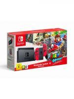 Konzole Nintendo Switch a příslušenství Konzole Nintendo Switch - Red + Super Mario Odyssey