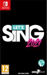 hra pro Nintendo Switch Lets Sing 2021 + Mikrofon