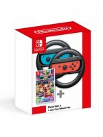 Konzola Nintendo Switch a príslušenstvo Mario Kart 8 + Joy-Con Wheel Pair