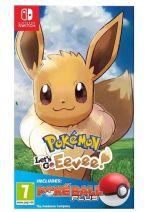 Konzola Nintendo Switch a príslušenstvo Pokémon: Lets Go, Eevee! + Poké Ball Plus