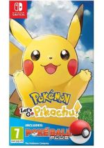 Konzola Nintendo Switch a príslušenstvo Pokémon: Lets Go, Pikachu! + Poké Ball Plus