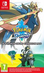 hra pro Nintendo Switch Pokémon Sword + Expansion Pass