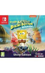 hra pre Nintendo Switch Spongebob SquarePants: Battle for Bikini Bottom - Rehydrated - Shiny Edition (SWITCH)