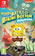 hra pro Nintendo Switch Spongebob SquarePants: Battle for Bikini Bottom - Rehydrated (SWITCH)