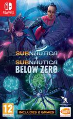 Subnautica: Below Zero + Subnautica CZ (SWITCH) + darček nálepky Subnautica