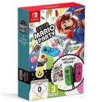Konzola Nintendo Switch a príslušenstvo Super Mario Party + ovládače Joy-Con (Green/Pink)