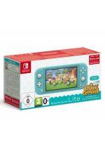 Konzole Nintendo Switch a příslušenství Konzole Nintendo Switch Lite - Turquoise + Animal Crossing: New Horizons + 3 měsíce NSO