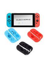 Konzole Nintendo Switch a příslušenství Silikonové obaly pro Joy-Con ovladače (černé)