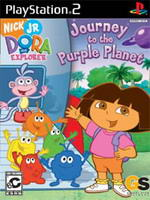 Hra pre Playstation 2 Dora the Explorer: Journey to the Purple Planet