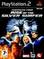 Hra pre Playstation 2 Fantastic Four: Rise of the Silver Surfer