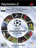 Hra pre Playstation 2 UEFA Champions League 2001-2002